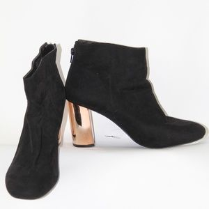 PRIMARK SUEDE ANKLE BOOTIES SIZE 10